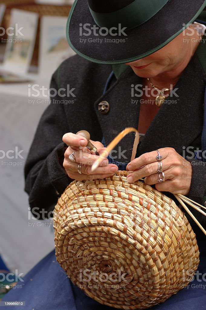 Handarbeit stock photo