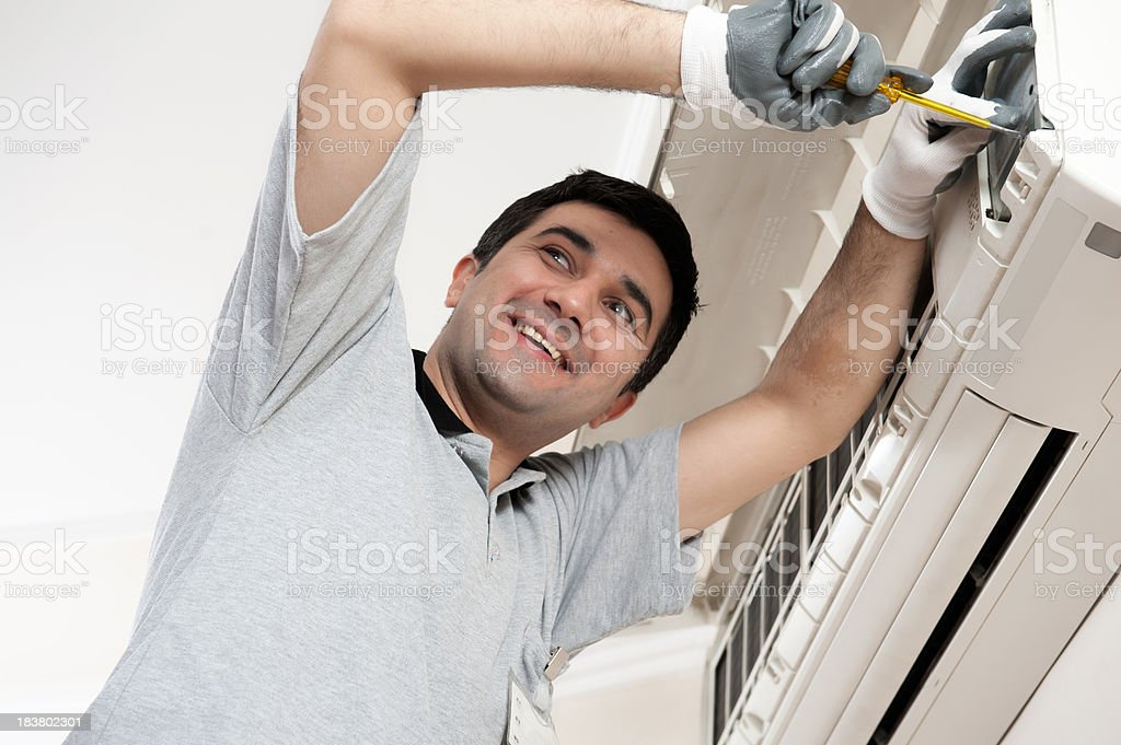 Manual Worker royalty-free stock photo