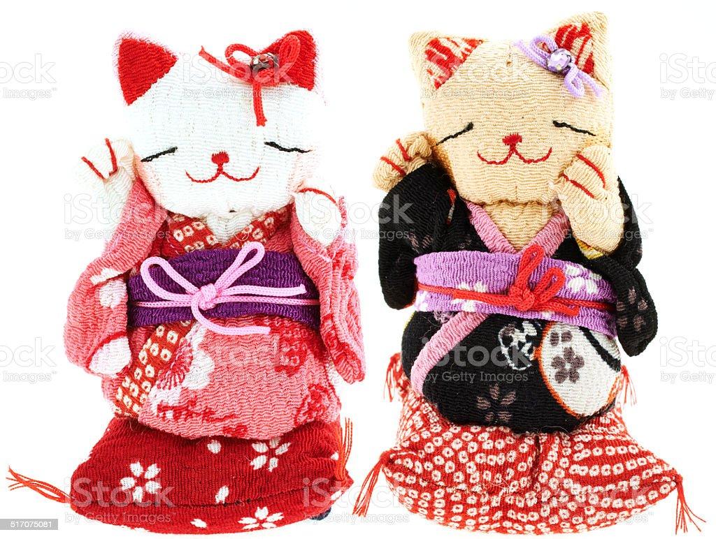 Manueki Neko stock photo