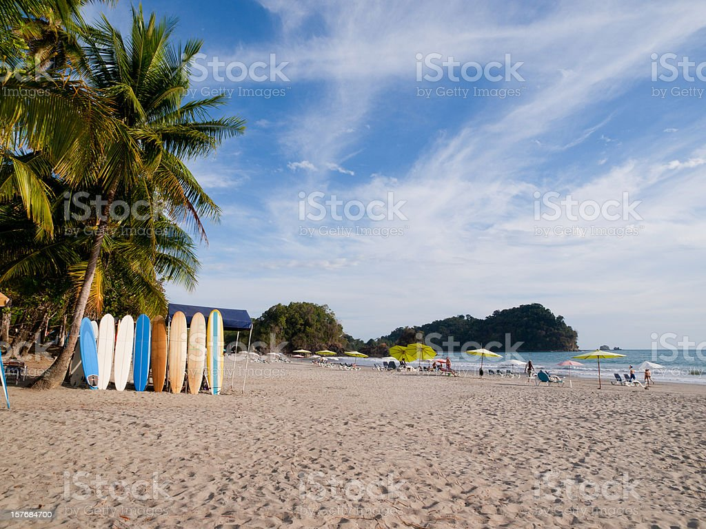 Manuel Antonio Beach stock photo