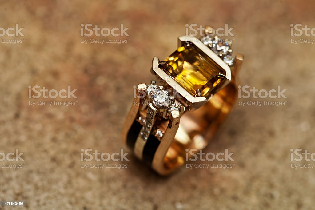 manufacture and repair of jewelry stock photo