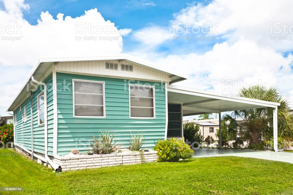 Manufactured Home royalty-free stock photo