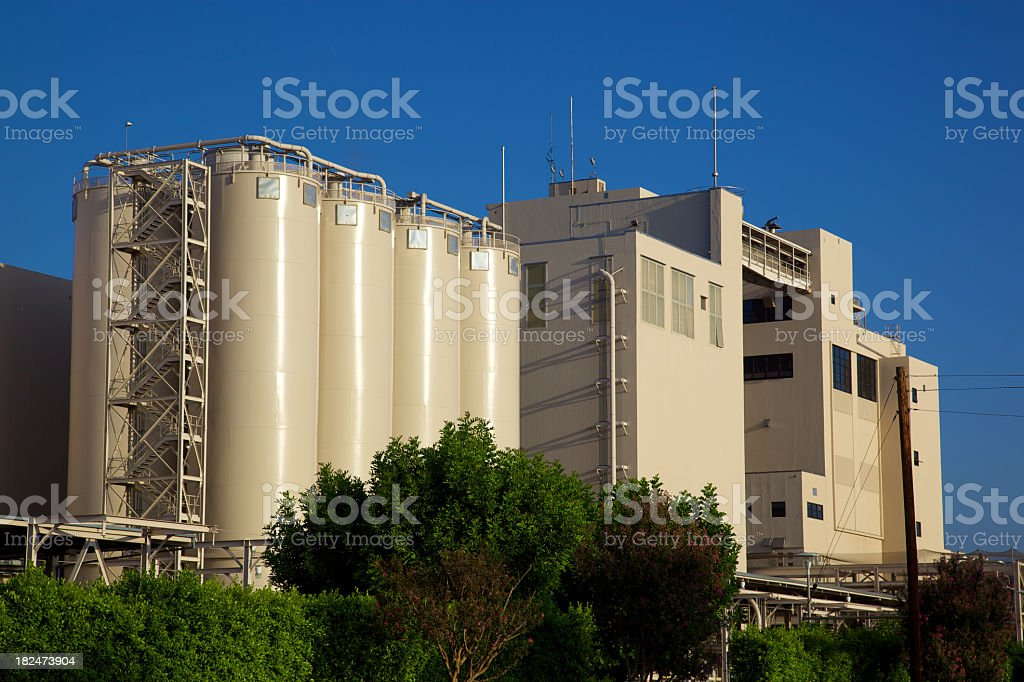 Manufacturing Factory royalty-free stock photo