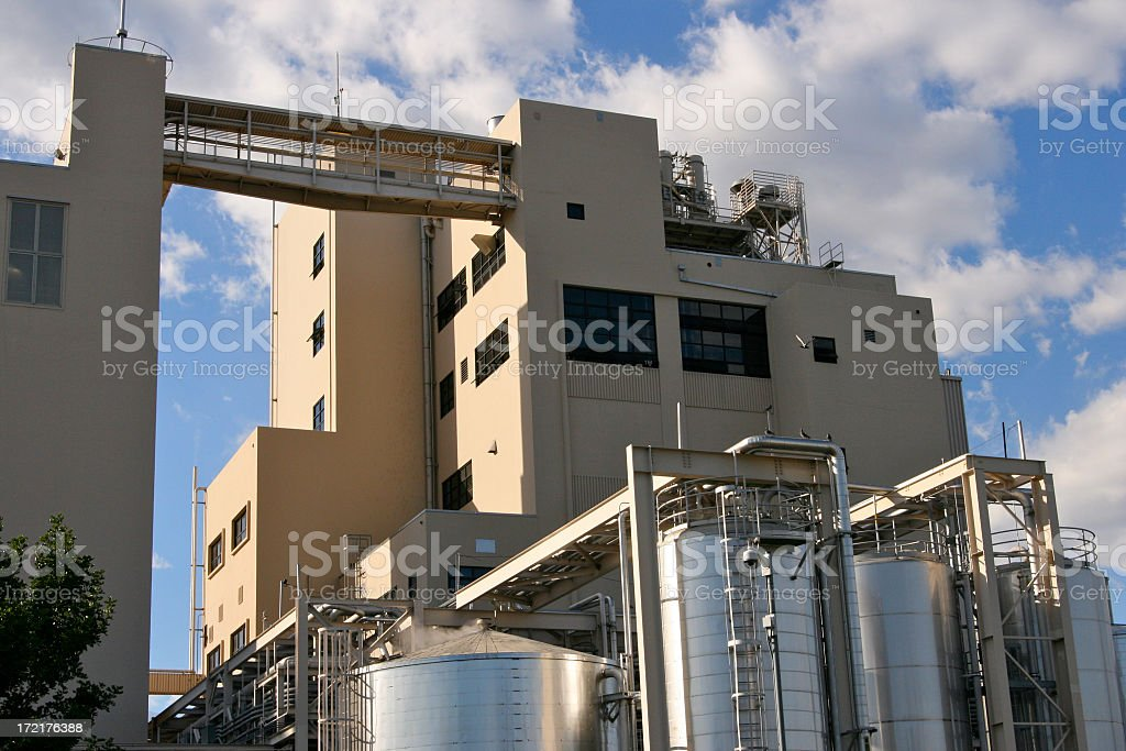 Manufacturing Plant royalty-free stock photo