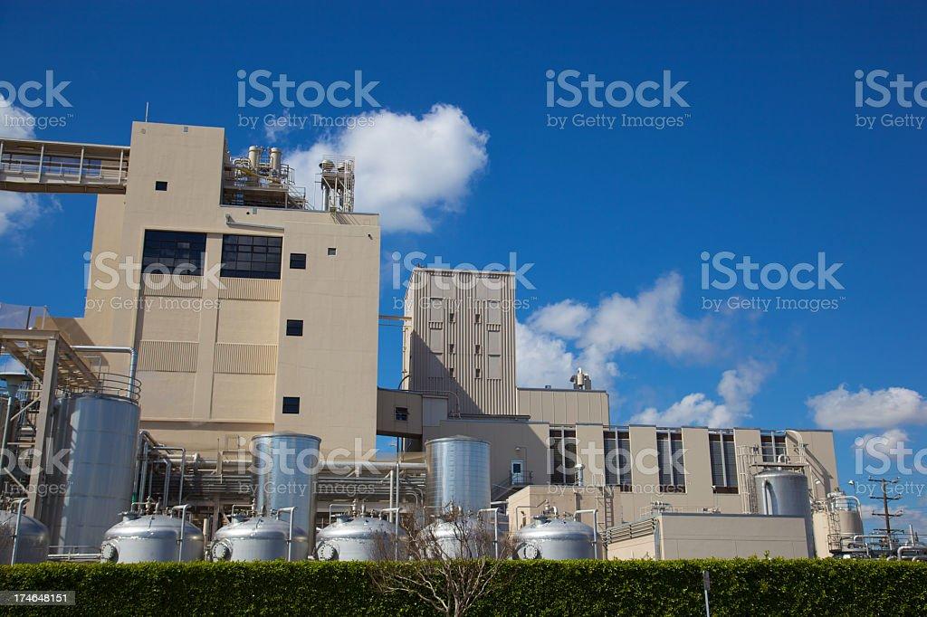 Manufacturing Plant XXXL royalty-free stock photo