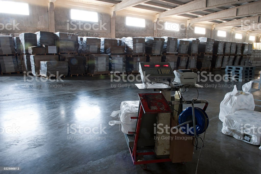 Manufracturing Warehouse stock photo