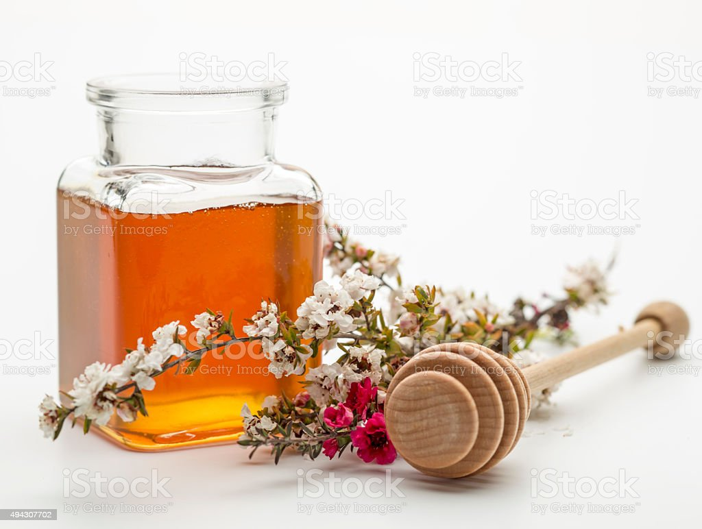 Manuka Honey stock photo