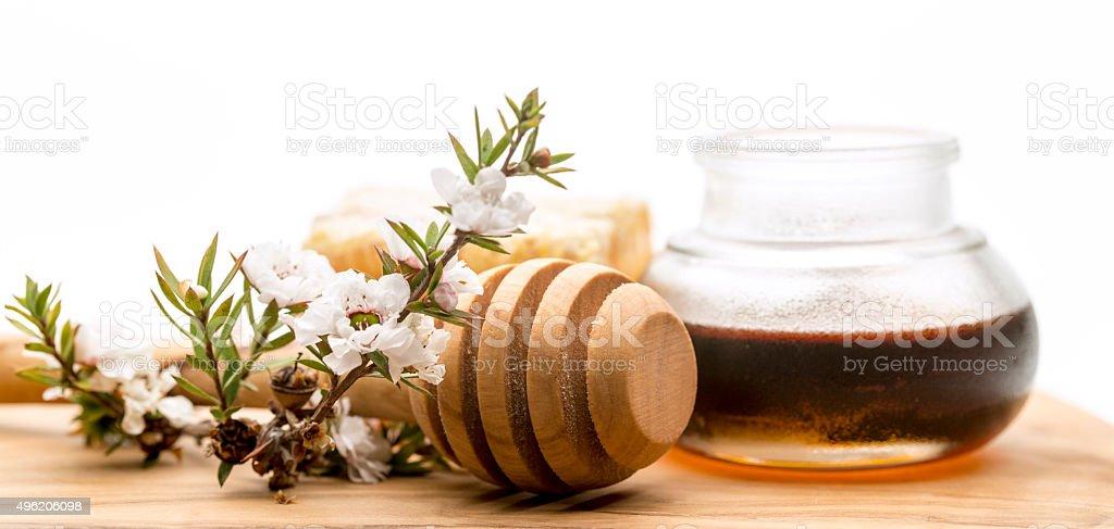 Manuka Honey stock photo