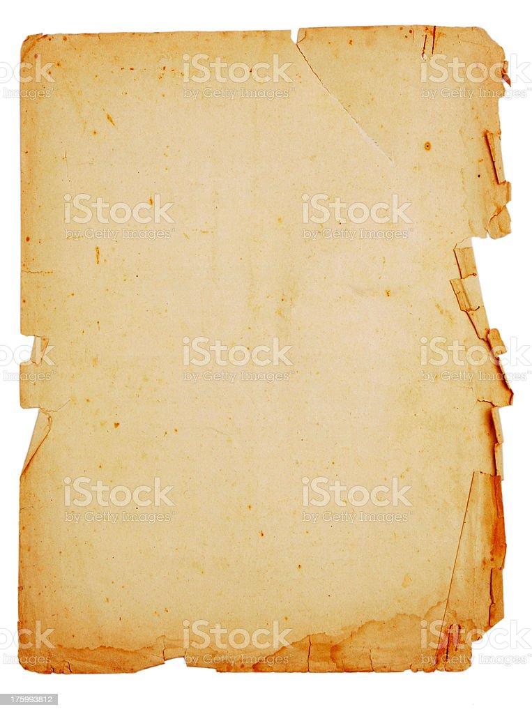 Manuscript royalty-free stock photo