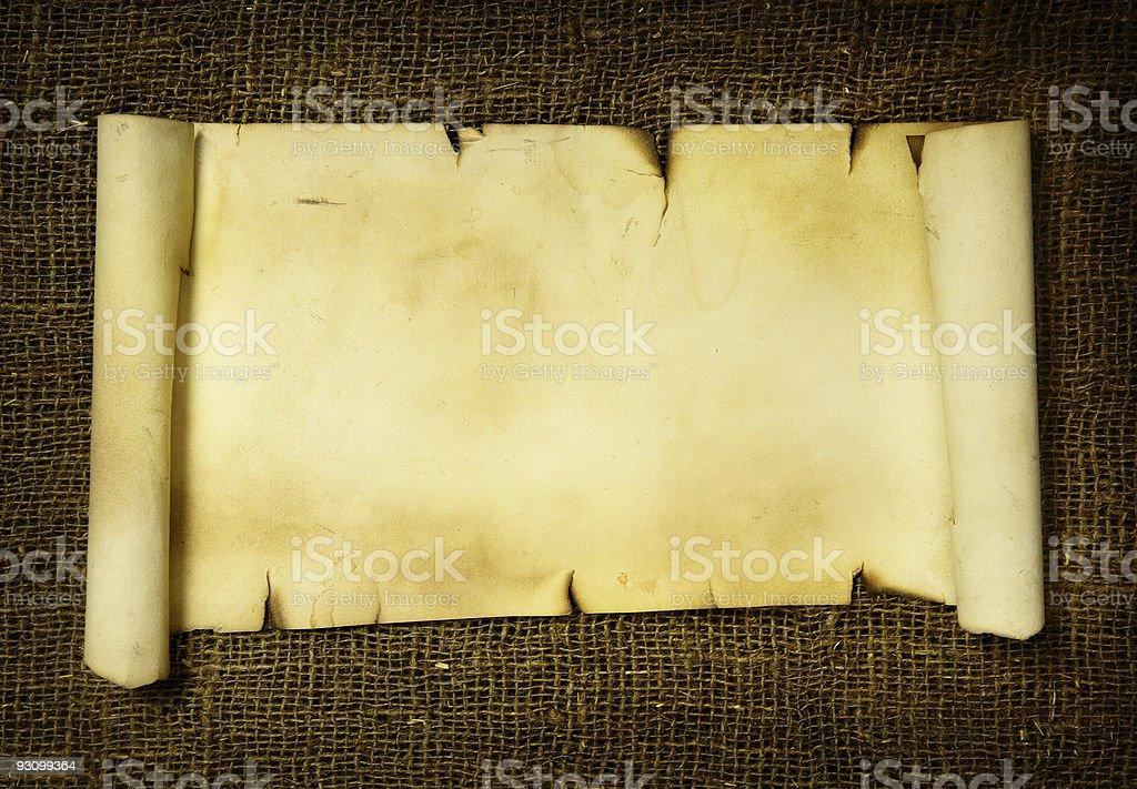 Manuscript stock photo