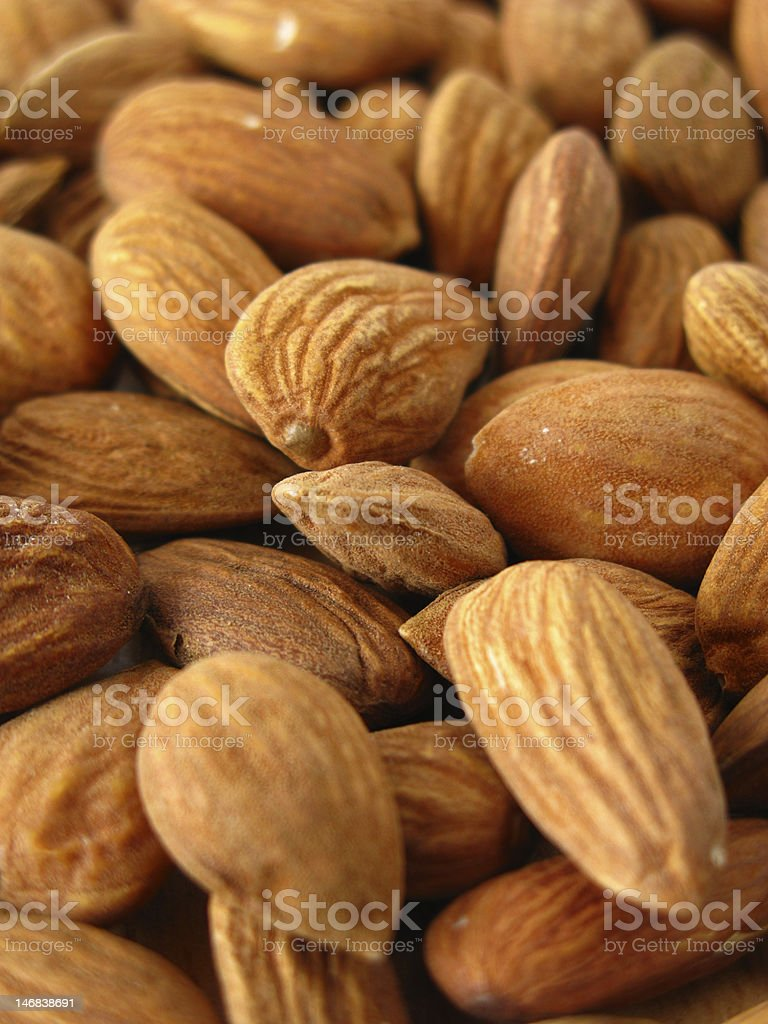 many almonds royalty-free stock photo
