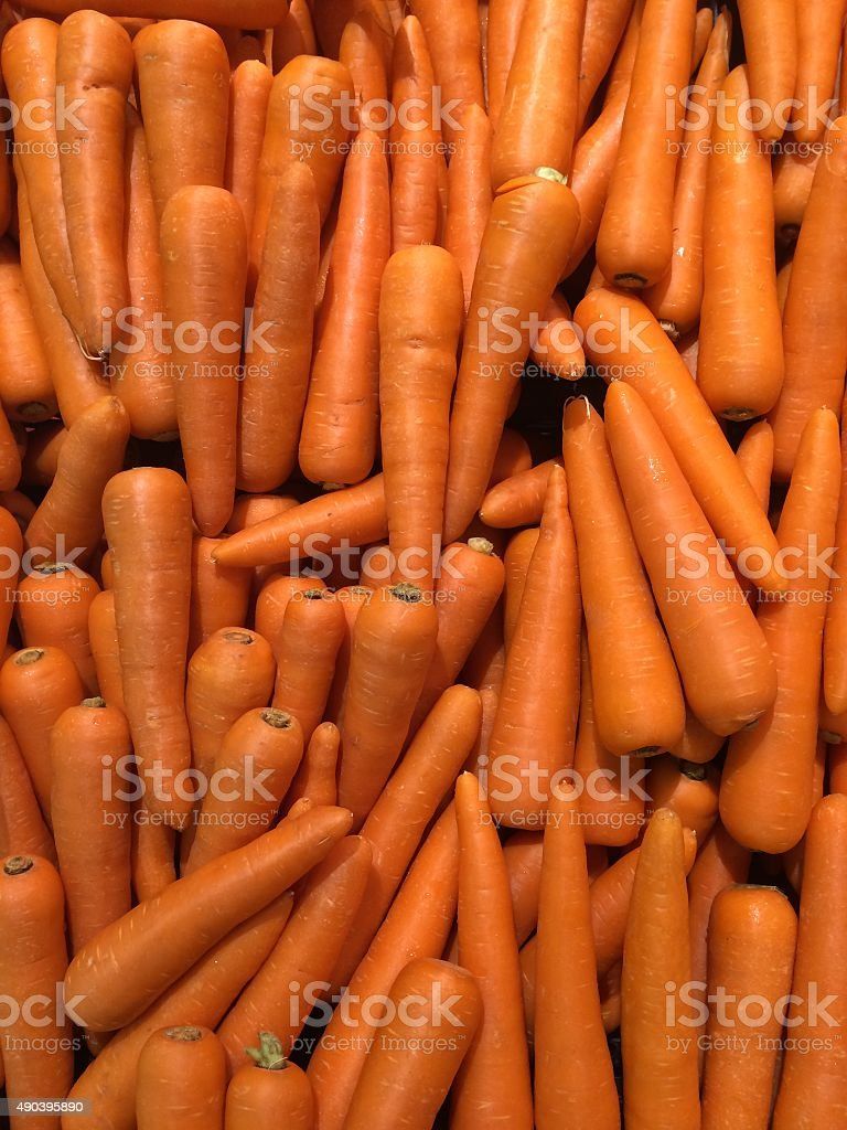Many Carrot vegetable high vitamin and calcium , good for health stock photo