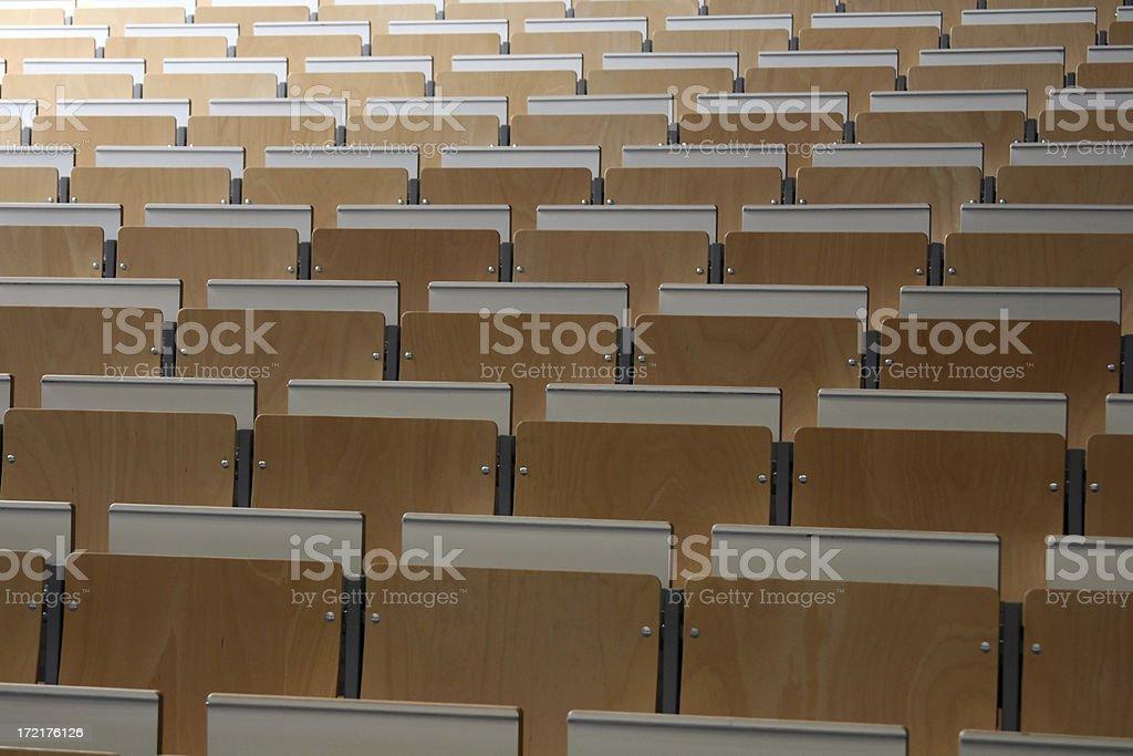 many chairs royalty-free stock photo
