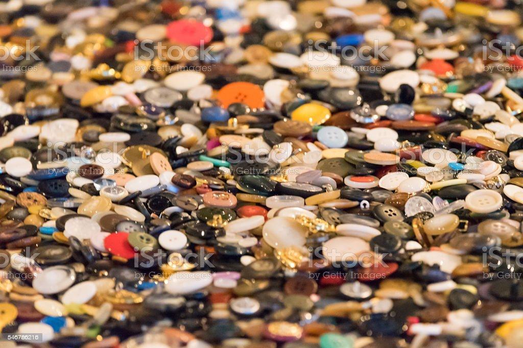 De boutons colorés photo libre de droits