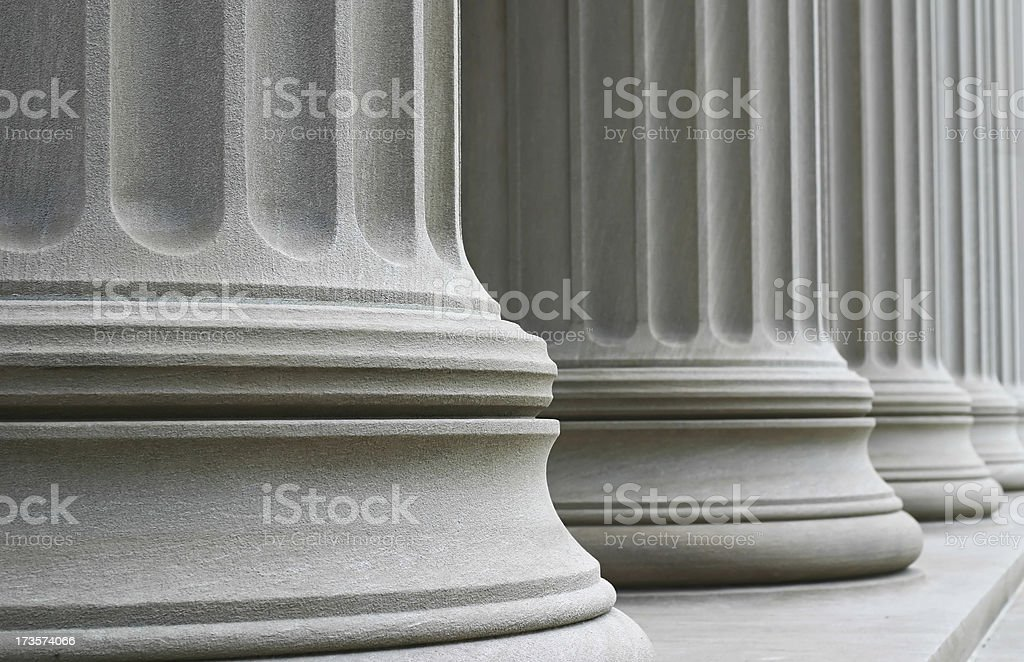 Many Columns stock photo
