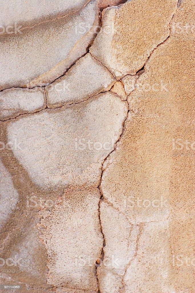 many cracks royalty-free stock photo