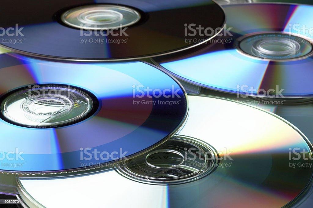 Many DVD stock photo