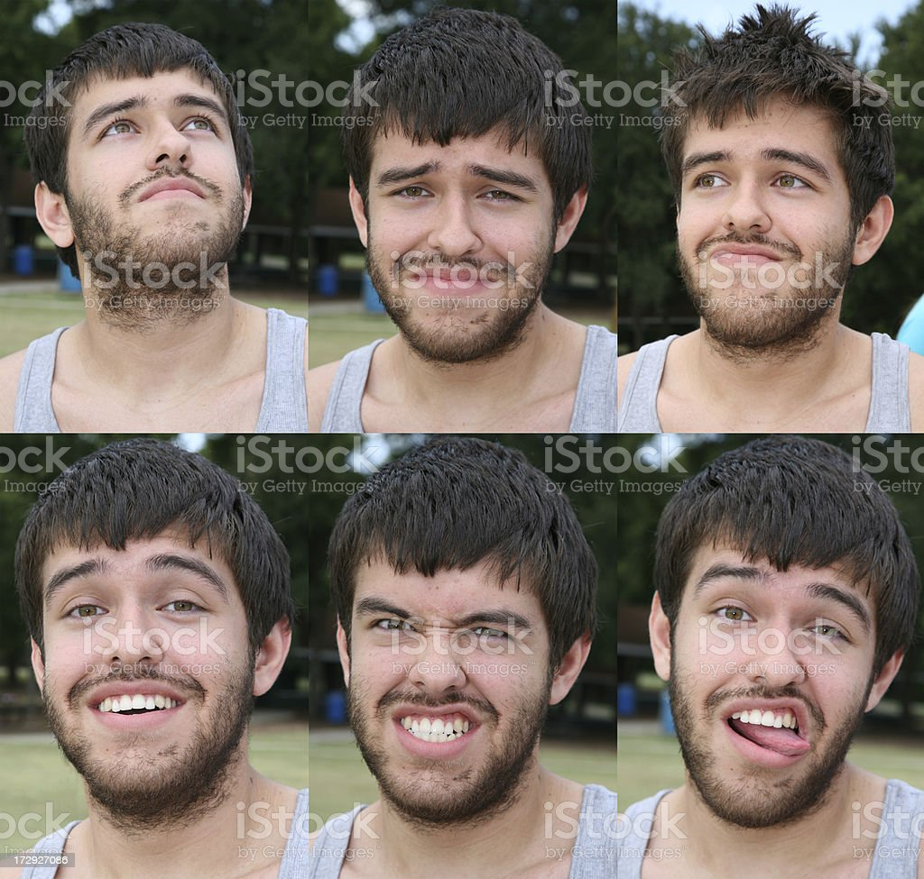 Many Faces royalty-free stock photo