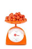 many fresh small tomato