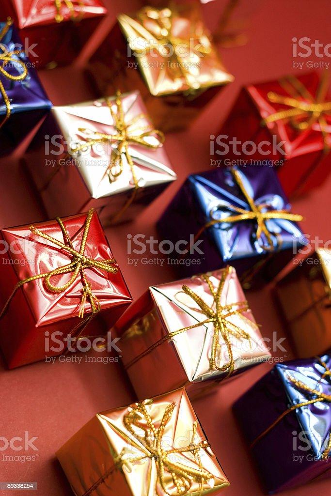 Many gifts royalty-free stock photo