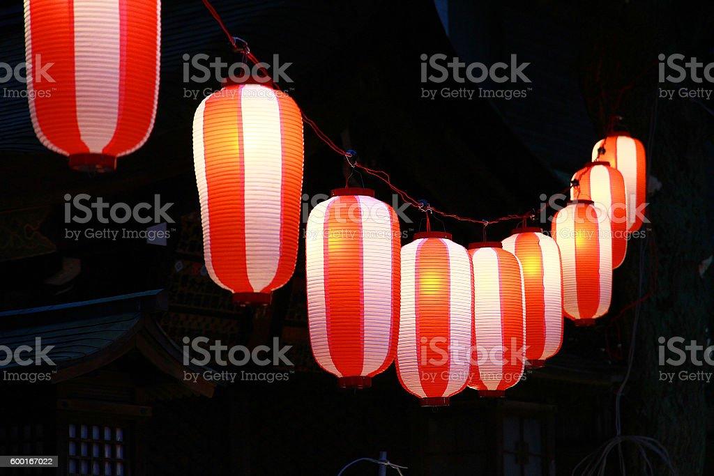 Muchos linternas foto de stock libre de derechos