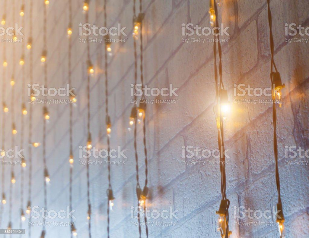 Many Light bulb and light. stock photo