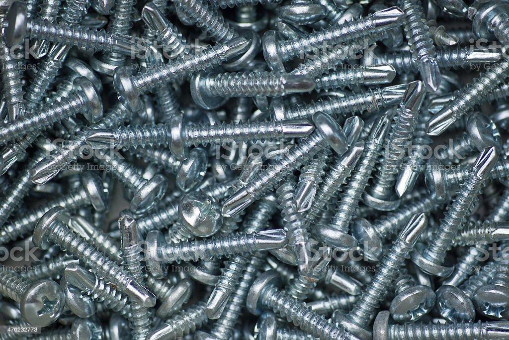 many screws royalty-free stock photo