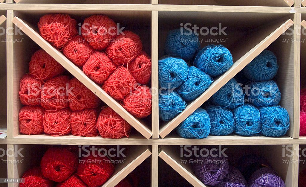 many threads stock photo