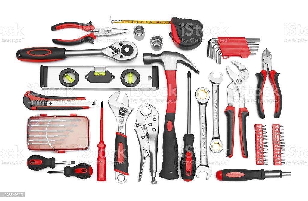 Many Tools stock photo