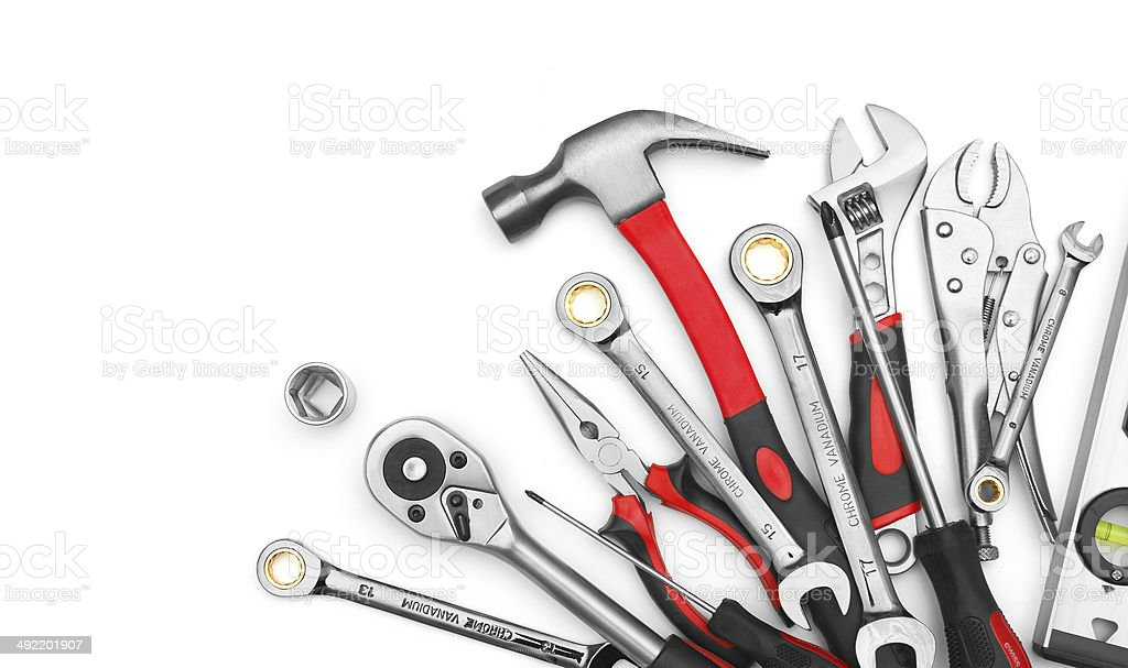 Many Tools stock photo
