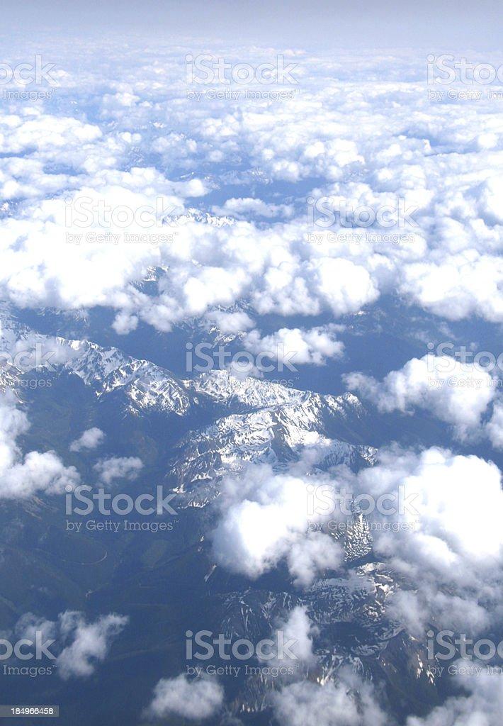 Many Valleys royalty-free stock photo