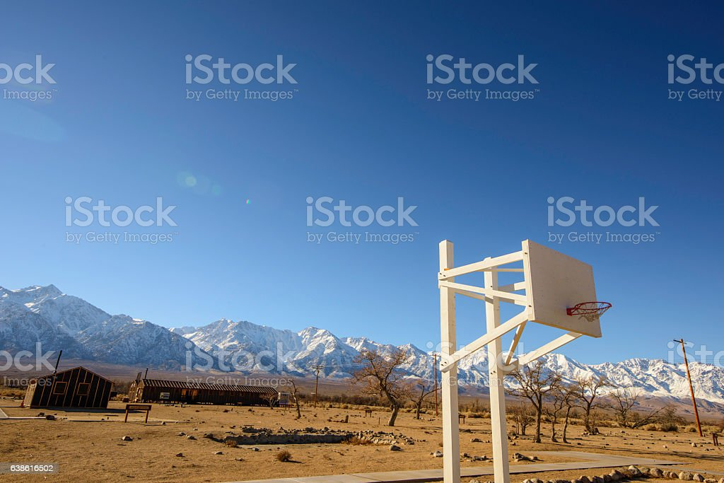 Manzanar National Historic Site stock photo