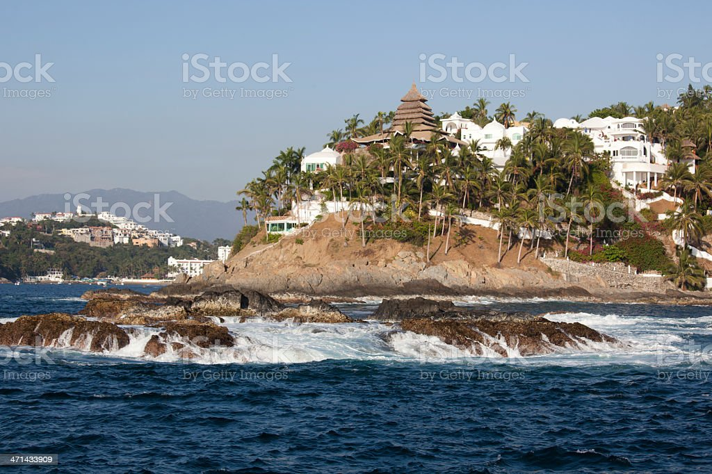 Manzanillo Mexico Resort Destination stock photo