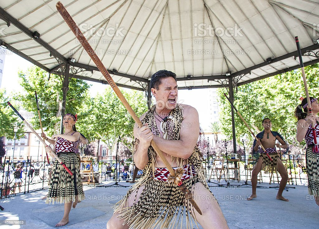 Maori stock photo