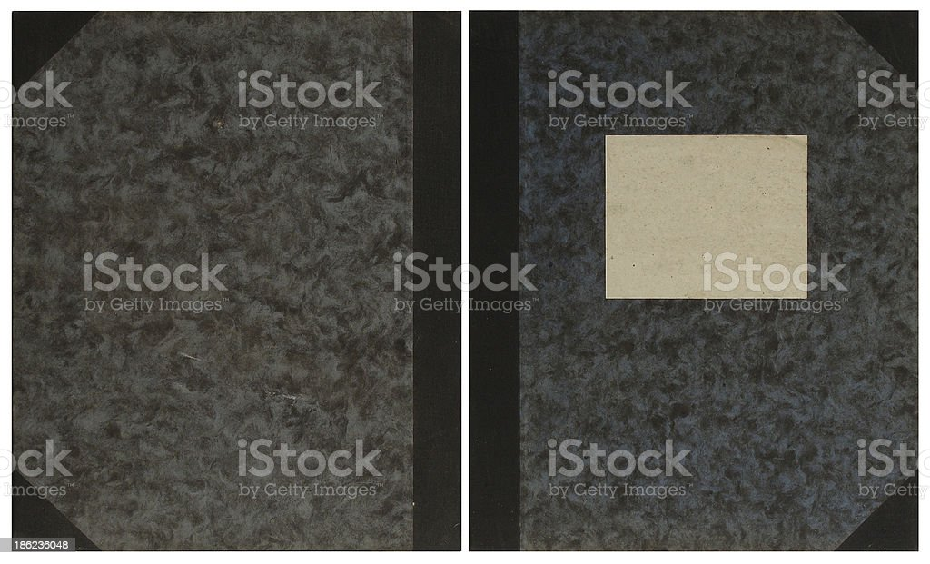 map folder with tag royalty-free stock photo