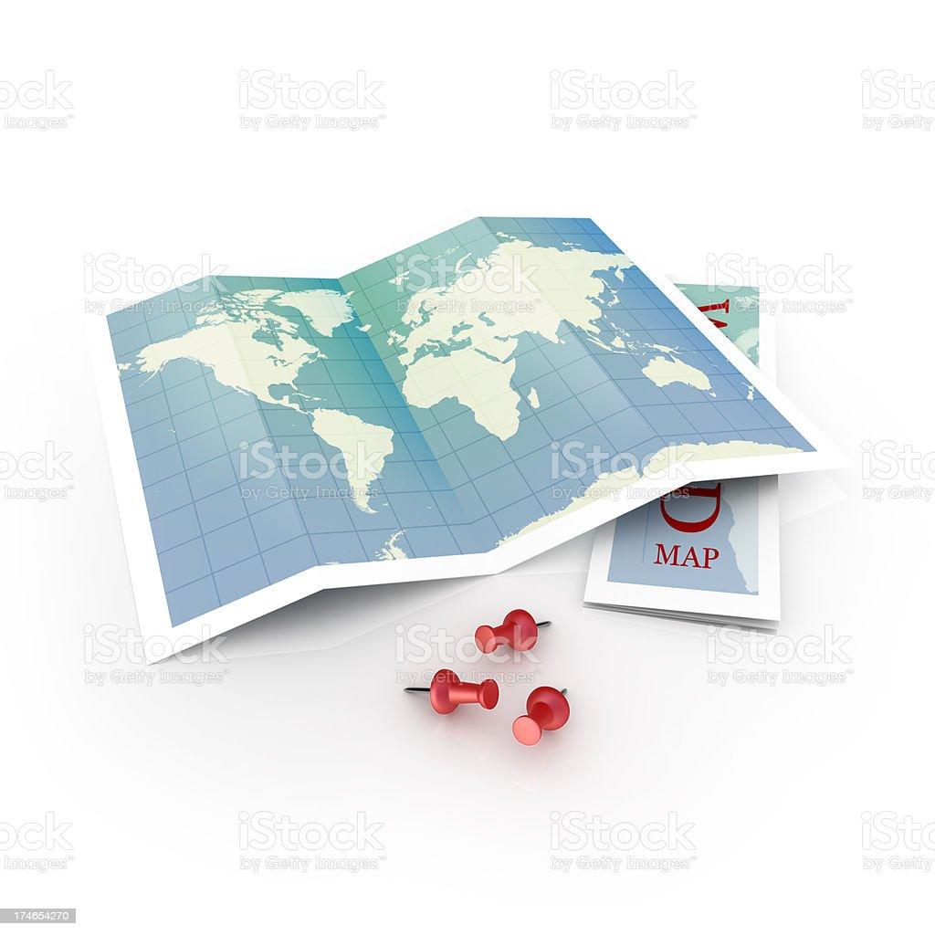 map locators stock photo