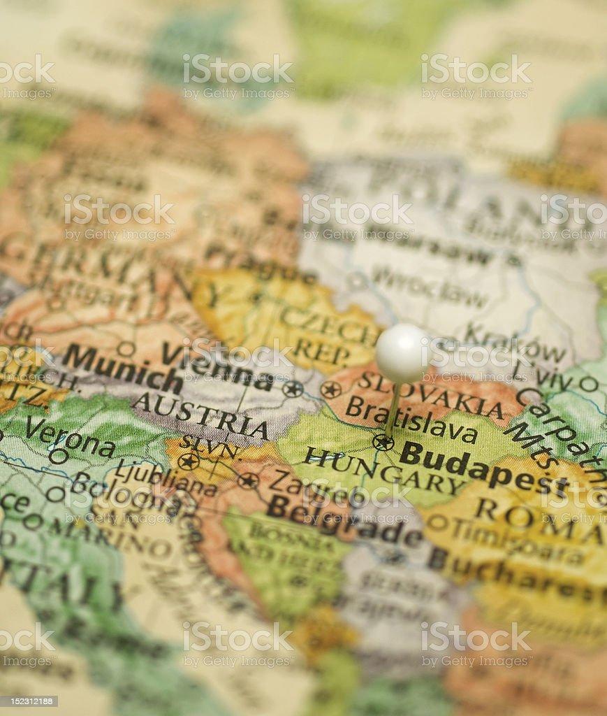 Map Of Central Europe With Austriahungaryitalygermanyslovakia – Map Austria Germany
