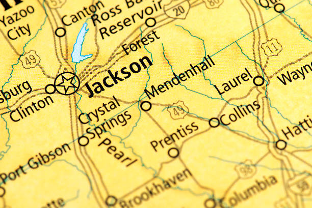 Jackson Mississippi Pictures Images And Stock Photos IStock - Jackson mississippi on us map