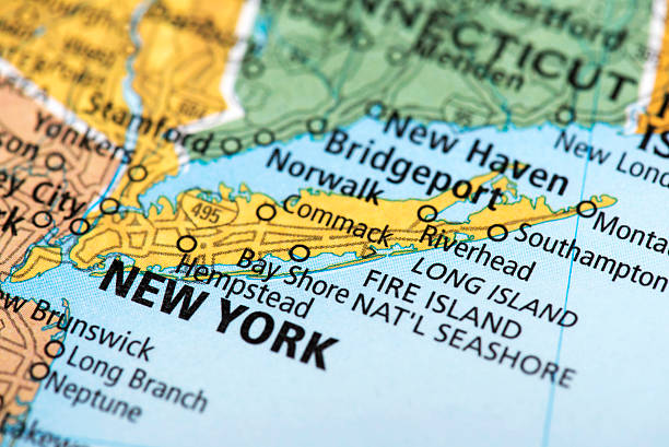 New York Map Pictures Images And Stock Photos IStock - Monta in us map