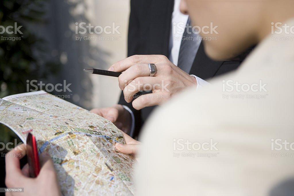 Map royalty-free stock photo