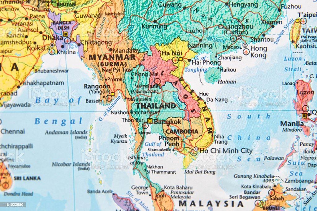 Map. stock photo