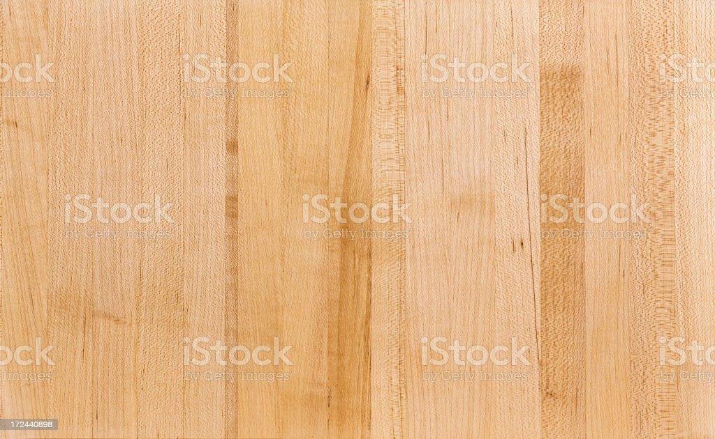 Maple Butcher Block Wood Grain Background stock photo