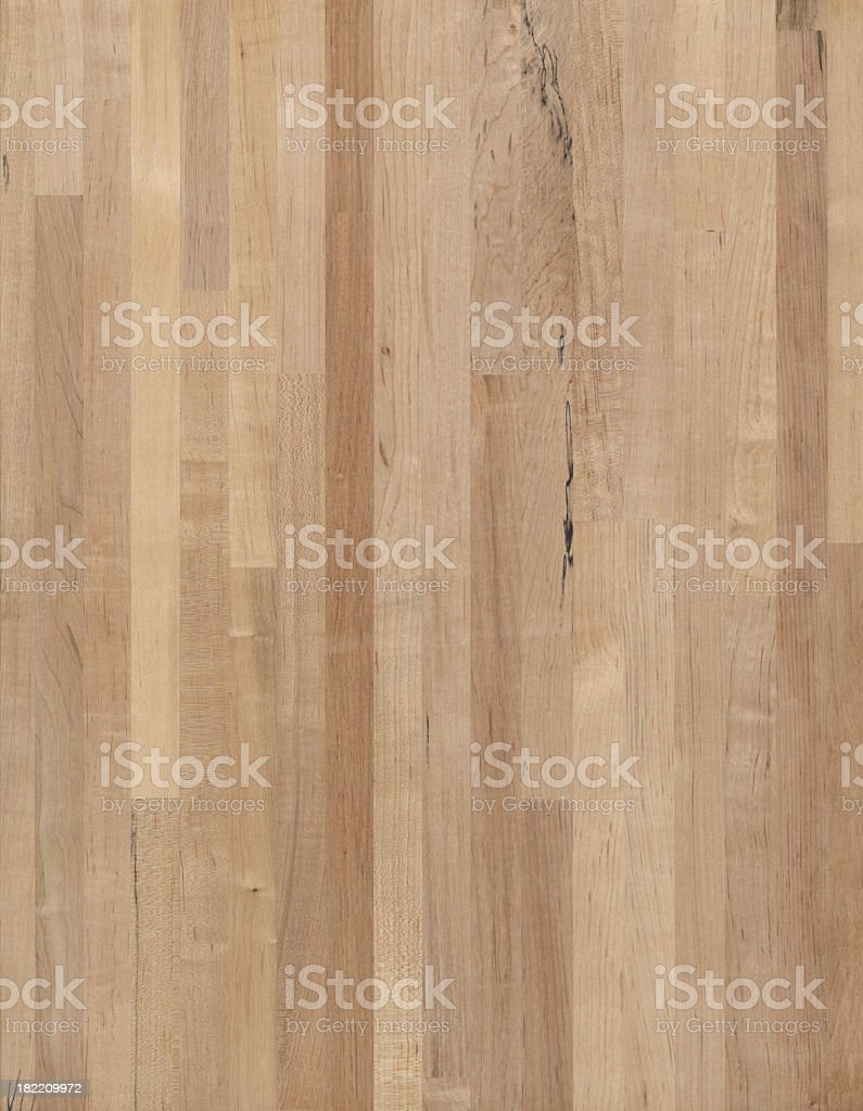 Maple Butcher Block wood grain background royalty-free stock photo