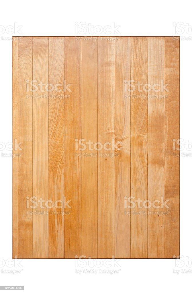 Maple Cutting Board stock photo