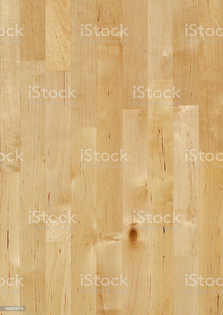 Maple wood butcher block background stock photo