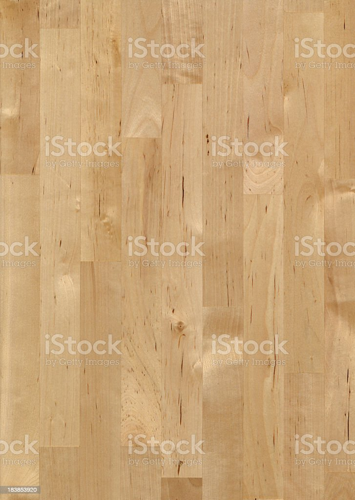 Maple wood butcher block background royalty-free stock photo