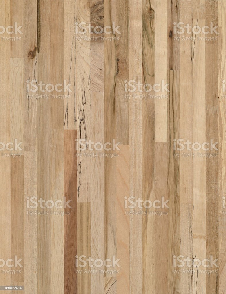 Maple wood grain butcher block background royalty-free stock photo