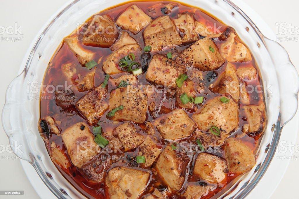 Mapo Tofu (麻婆豆腐) stock photo