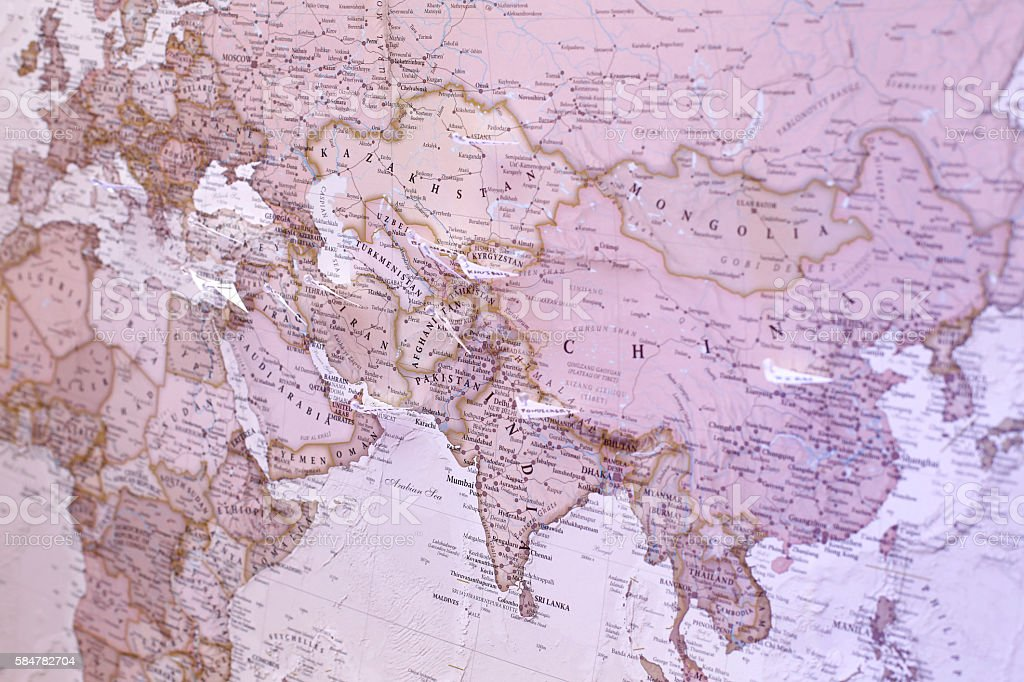 maps of the world stock photo