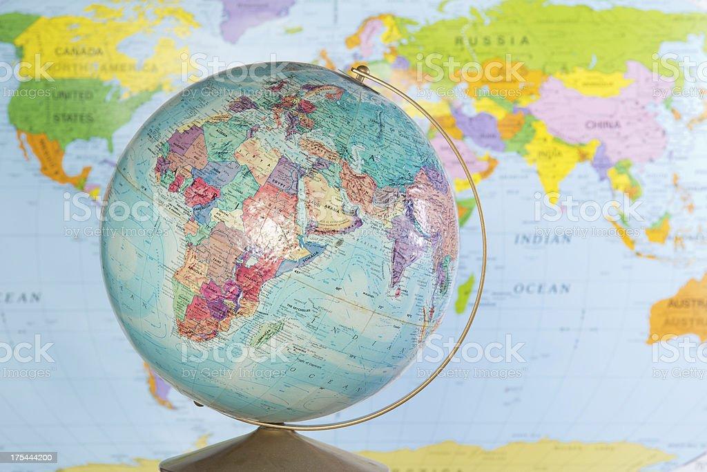 Maps royalty-free stock photo